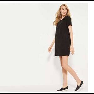 Crepe T-Shirt dress-M